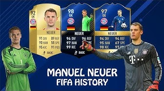 MANUEL NEUER | FIFA HISTORY | FIFA 10 - FIFA 18