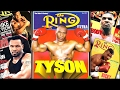 Mike Tyson on the covers of magazines (Part One)