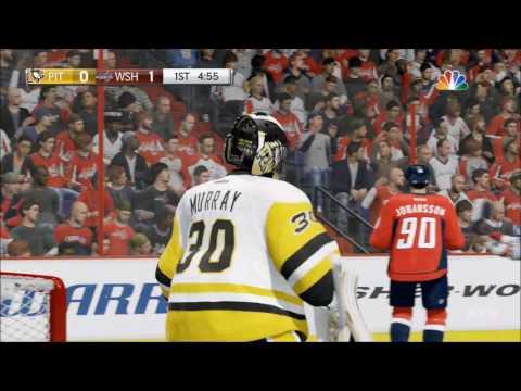 NHL 17 - Pittsburgh Penguins vs Washington Capitals | Gameplay (HD) [1080p60FPS]