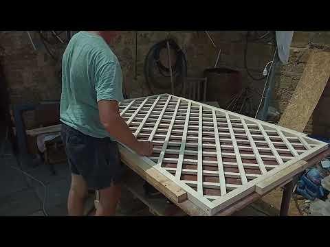 Как сделать решетку своими руками