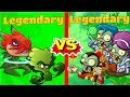 Plants vs Zombies Heroes LEGENDARY New Plant and Zombies Cards! Primal Video