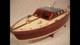 Ito Cruiser Japanese 22in Wood Toy Boat By R-c Craft