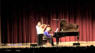 Paul Hindemith Sonata op.11 no.4 / Esra Pehlivanli & Anastasia Safonova