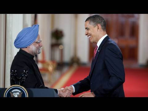 President Obama and Prime Minister Singh Press Conference