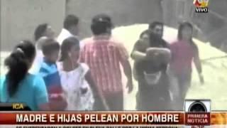 Tuteve.tv / Madre e hijas se pelean por el amor de un hombre en Ica