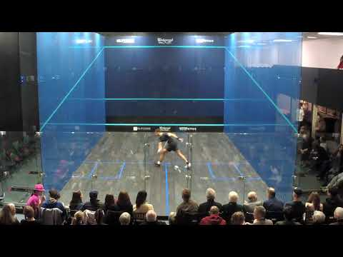 Squash Exhibition: James Willstrop vs. Mostafa Asal at the Seattle Athletic Club Downtown
