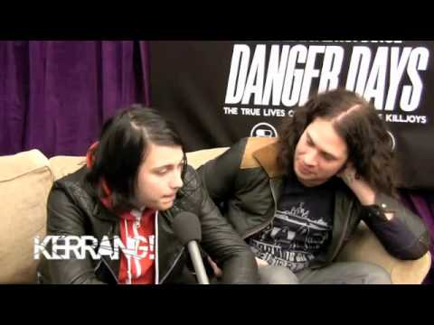 Kerrang! Podcast- Frank and Ray Interview, MCR