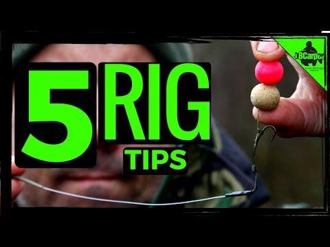 5 CARP FISHING RIG TIPS 😀