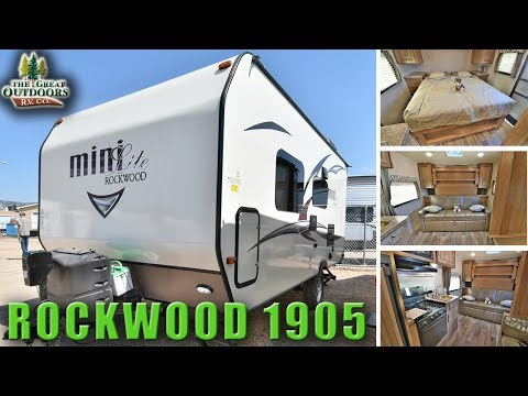 New 2018 Light Weight Travel Trailer ROCKWOOD Mini Lite 1905 Colorado RV