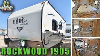 New 2018 Light Weight Travel Trailer ROCKWOOD Mini Lite 1905 Colorado RV
