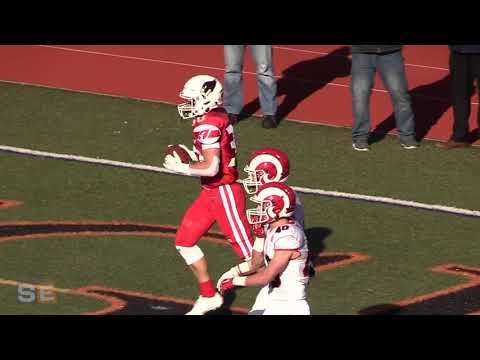 AJ Barber's Leaping Catch And Touchdown Pass