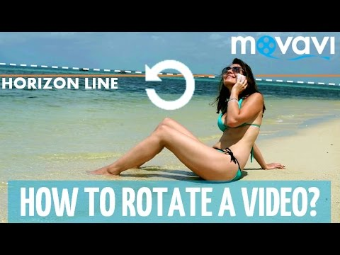 How to Rotate a Video? - Movavi Video Suite 14