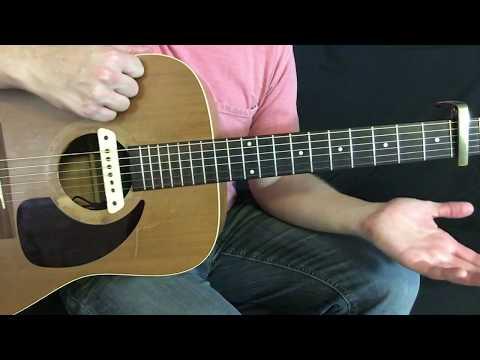 Happy Now - Zedd (Elley Duhe) - Guitar Lesson Tutorial