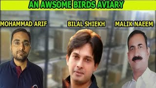 A VISIT OF MR. NAEEM'S BIRDS AVIARY l URDU/HINDI