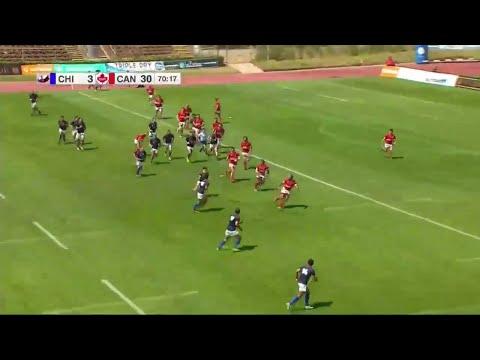 Canada's Kainoa Lloyd scores cracker - Americas Rugby Championship