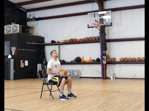 Form Shooting With A Chair. Coach P Basketball - Training Athletes To Victory