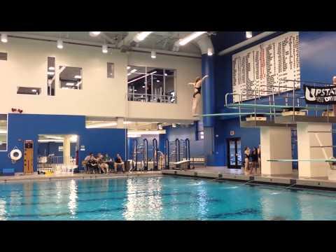 Alexandra (Ali) House diving - 205b on 3 meter