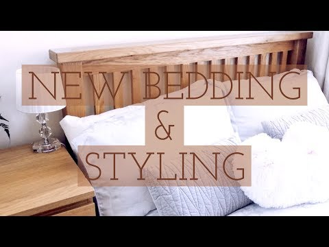 OPERATION: NEW BEDROOM | New Bedding & Re-styling | Part 1 of 2 - a mini series!