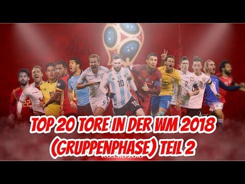 Top 20 Der Schönste Tore der WM 2018 Teil 2 (Gruppenphase) | TopVegeta