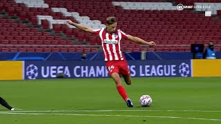 Marcos Llorente First 10 Goals for Atletico Madrid