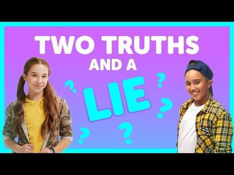 Two Truths & A Lie with Liv & Isaiah from The KIDZ BOP Kids