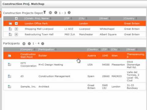 CRM Process: Construction Project Depot (Industry) in update CRM (English)