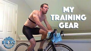 My bike training gear, January 2017