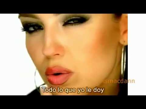 Thalia - Amar Sin Ser Amada Video  + Lyrics