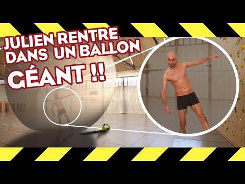METTRE UN POTE DANS UN BALLON GÉANT ET LE FAIRE EXPLOSER ! thumbnail
