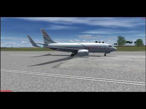  VP-CLR Landing at NFTF Fua'amotu International Airport VATSIM 