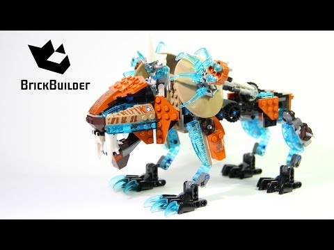 Lego Chima 70143 Sir Fangar's Sabre-Tooth Walker Build and review