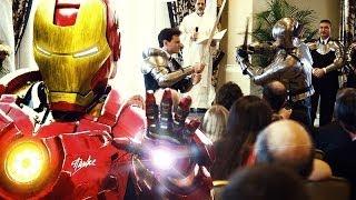 OFFICIAL Epic Wedding Ceremony Battle (Batman, Iron Man & More) thumbnail