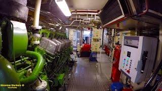 7200hp TugBoat WalkThru   Spinning Turbines