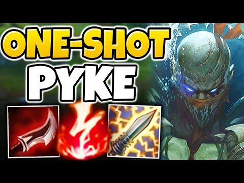 WTF!?! NEW AD BURST PYKE IS ACTUALLY SO BUSTED! NEW INVISIBLE ONE-SHOT COMBO! - League of Legends