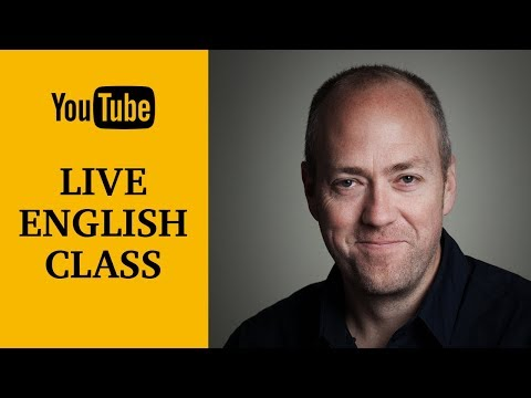 Live English class | August 15, 2017 | Canguro English