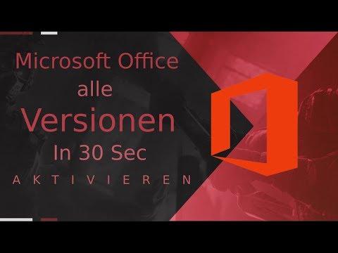 Microsoft Office Alle Versionen Kostenlos Und Viren Frei Aktivieren!
