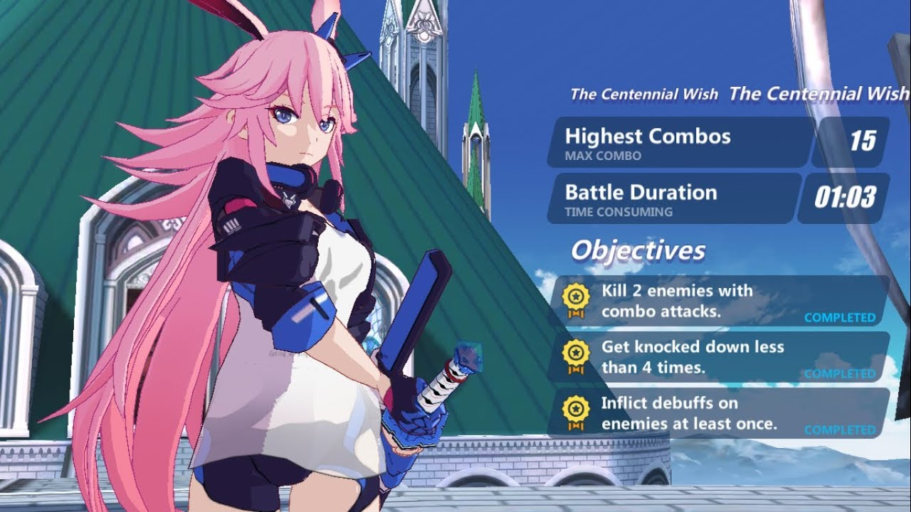 [Honkai Impact 3] Yae Sakura Trial (SEA)