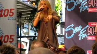 Carrie Underwood Flat On The Floor Live Queen St Mall Brisbane