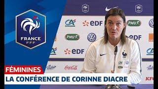 France-Brésil Féminine : la conférence de presse de Corinne Diacre I FFF 2018