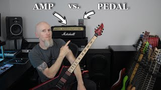 "Amp vs. Pedal! The ""Death"" Tone (VS8100 vs MARTYR)"