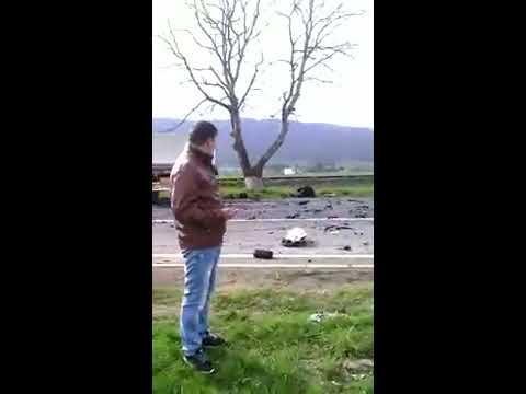 BMW accident Braşov , viteza uriasa, mort pe loc