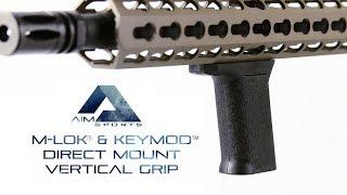 M-Lok & Keymod Direct Mount Vertical Grip, AIM Sports Inc.