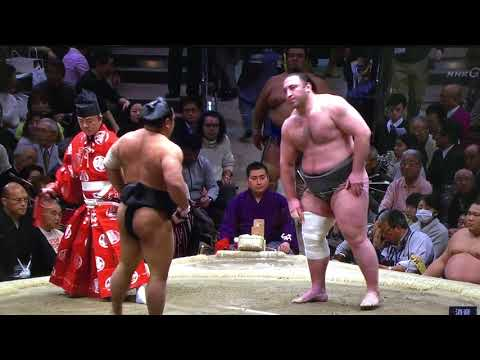 January 2018 - Day 14 - Tochinoshin v Shohozan
