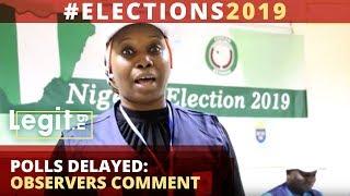 #Election2019 International, local observers comment on polls shift Legit TV