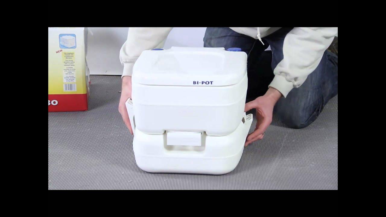 Fiamma Bi Pot 30 Portable Chemical Toilet   YouTube