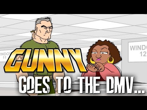 Gunny Goes to the DMV