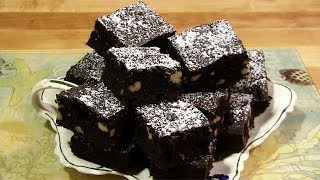Award Winning Brownies - Dark Chocolate Brownie Recipe