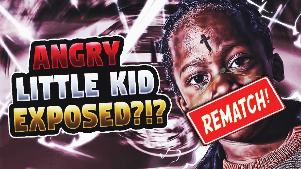 1v1 Against Trash Talking Angry Little Kid Pt 2 The Rematch 2k17