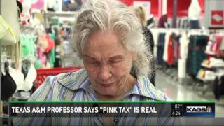 """Texas A&M professor says """"Pink Tax"""" Is real"""
