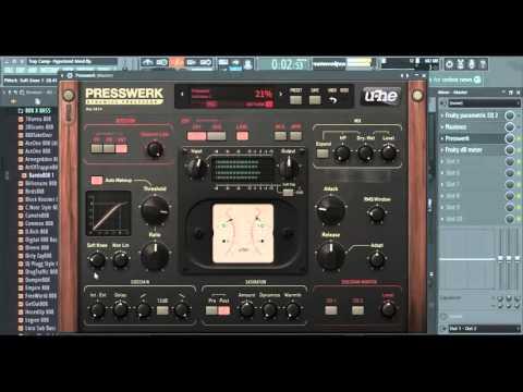 Review: U-He Presswerk VST effect plugin